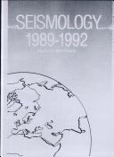 Seismology  1989 1992