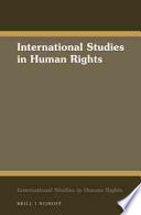 Cover of The International Law on the Rights of the Child