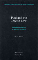 Paul and the Jewish Law