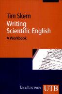 Writing Scientific English