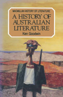 Pdf A History of Australian Literature Telecharger