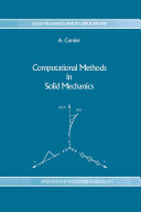 Computational Methods in Solid Mechanics