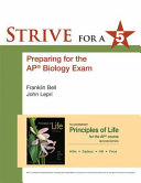 Strive for 5  Preparing for the AP Biology Examination