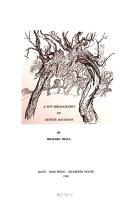 A New Bibliography of Arthur Rackham