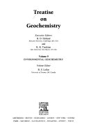 Treatise On Geochemistry Book PDF