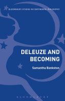 Deleuze and Becoming Pdf/ePub eBook