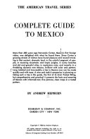 Complete Guide to Mexico