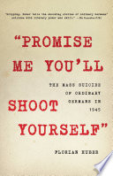 'Promise Me You'll Shoot Yourself'