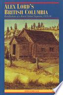 Alex Lord s British Columbia Book PDF