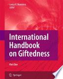International Handbook on Giftedness