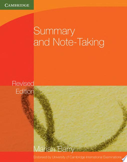 Summary and Note Taking
