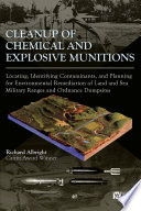 Cleanup Of Chemical And Explosive Munitions Book PDF