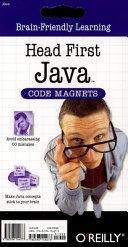 Head First Java Code Magnet Kit