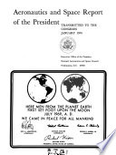 Aeronautics and Space Report of the President Book