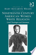 Nineteenth Century American Women Write Religion