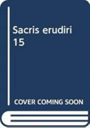Sacris Erudiri 15