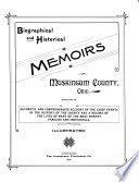 Biographical and Historical Memoirs of Muskingum County  Ohio