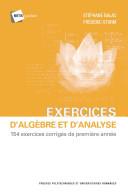 Exercices d'algèbre et d'analyse