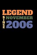 Legend Since November 2006