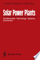 Solar Power Plants Book PDF