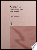 Anti-Lawyers
