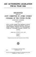 AEC Authorizing Legislation