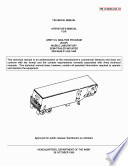 Operator's Manual for Army Oil Analysis Program (AOAP) Mobile Laboratory Semi-Trailer Mounted NSN 6640-01-254-1699