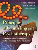Principles of Counseling and Psychotherapy