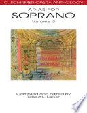 Arias For Soprano Volume 2