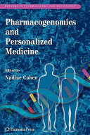 Pharmacogenomics and Personalized Medicine Book