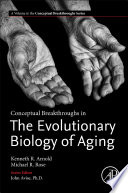 Conceptual Breakthroughs in the Evolutionary Biology of Aging Book