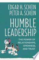 Humble Leadership Book