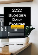 Blogger 2020 Daily Planner