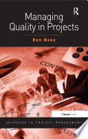 Managing Quality in Projects Book