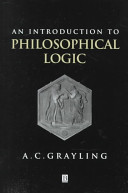An Introduction to Philosophical Logic ebook