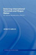 Deterring International Terrorism and Rogue States