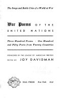 War Poems of the United Nations