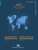 Pdf Monthly Bulletin of Statistics, July 2017 Telecharger