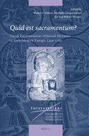 Pdf Quid est sacramentum? Volume One