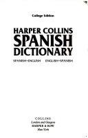 Harper Collins Spanish Dictionary