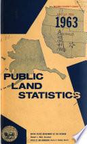Public Land Statistics