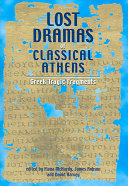 Lost Dramas of Classical Athens
