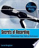 Secrets of Recording