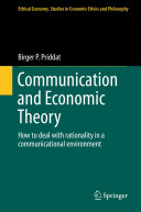 Communication and Economic Theory