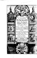 A Learned Summary upon the famous poeme (the First and Second Weeke) of William of Saluste Lord of Bartas. ... Translated out of French by T. L. D. M. P. [i.e. Thomas Lodge.]