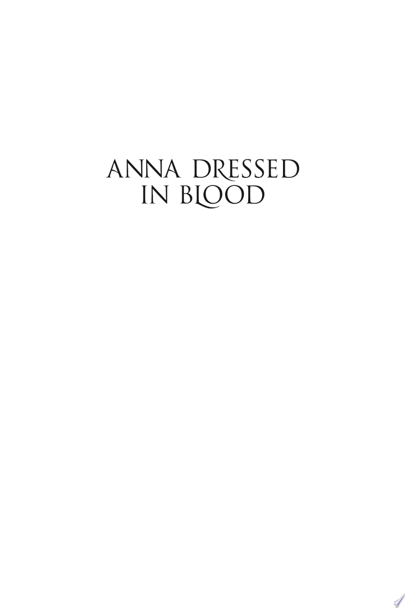 Anna Dressed in Blood image