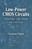 Low Power CMOS Circuits