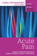 Clinical Pain Management   Acute Pain