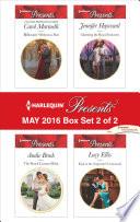 Harlequin Presents May 2016   Box Set 2 of 2 Book