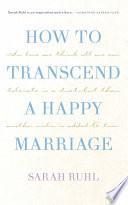 How to transcend a happy marriage  TCG Edition